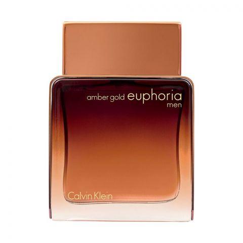Calvin Klein Euphoria Men Amber Gold Eau De Parfum, Fragrance For Men, 100ml
