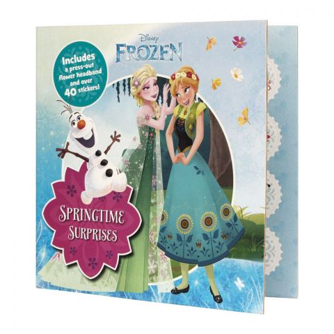 Springtime Surprises: Includes A Press-Out Flower Headband And Over 40 Stickers! Book