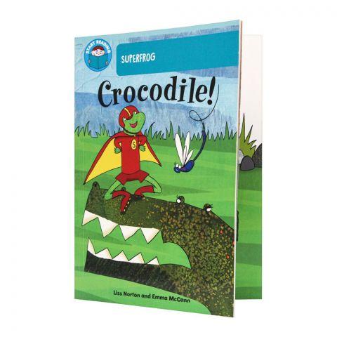 Super Frog Crocodile! Book
