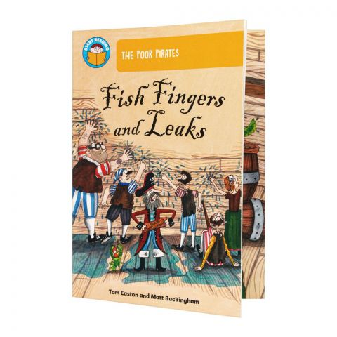 The Poor Pirates Fish Fingers And Leaks Book