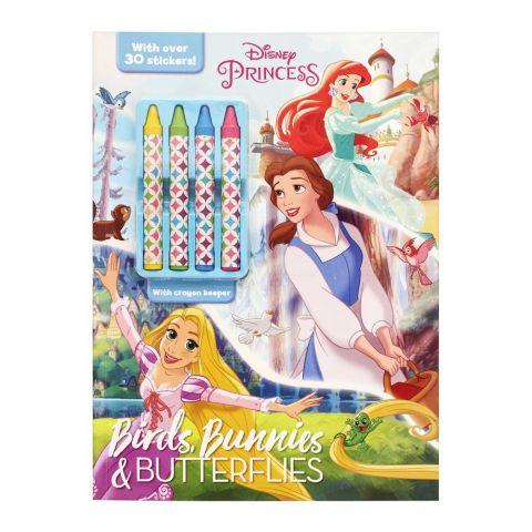 Disney Princess Birds, Bunnies & Butterflies Book