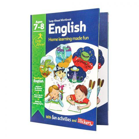 Leap Ahead Workbook: English Age 7-8 Book