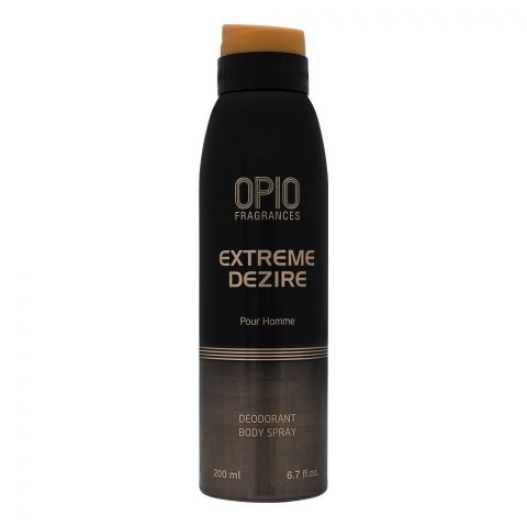 Opio Extreme Dezire Pour Homme Deodorant Body Spray, For Men, 200ml
