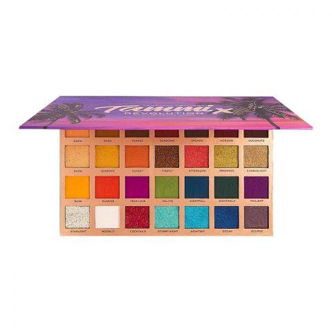Makeup Revolution Tammix Tropical Twilight Eyeshadow Palette, 28-Shades