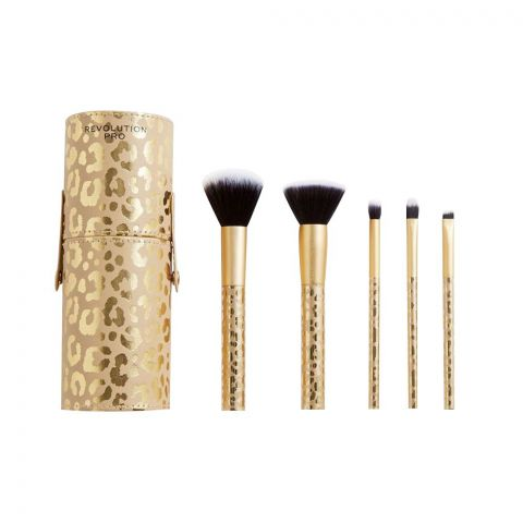 Makeup Revolution Pro Neutrals Brush Collection Set