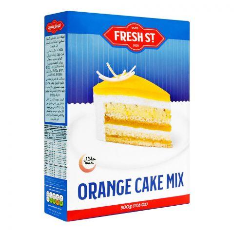 Fresh Street Orange Cake Mix, 500g