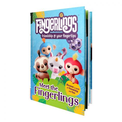 Meet The Fingerlings Book