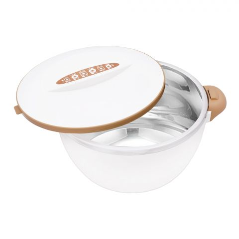 Happy Ware Hot Pot With Lock, 21x16x12cm, 1000ml, Beige, SU-619