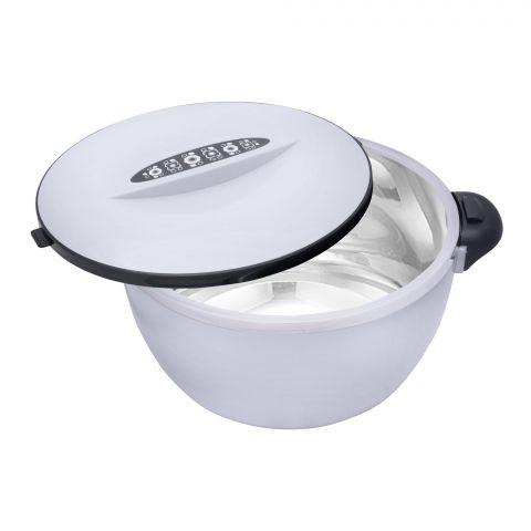 Happy Ware Hot Pot With Lock, 21x16x12cm, 1000ml, Silver, SU-619