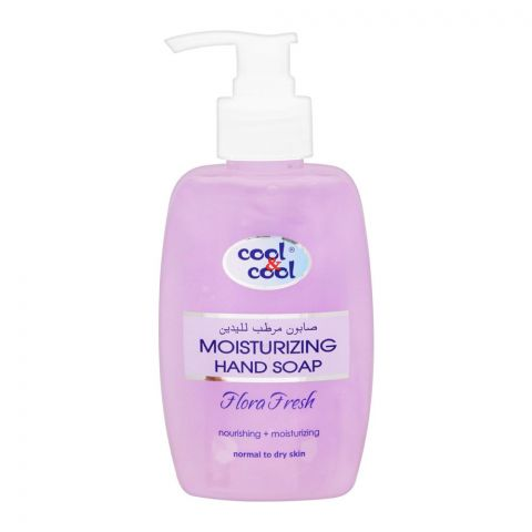 Cool & Cool Moisturizing Hand Soap, Flora Fresh, Normal To Dry Skin, 250ml