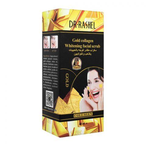 Dr. Rashel Gold Collagen Whitening Facial Scrub, 80ml