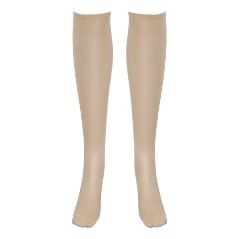 Gol Lycra Power Ladies Socks, Skin