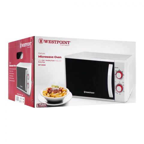 West Point Deluxe Microwave Oven, 20 Liters, WF-822