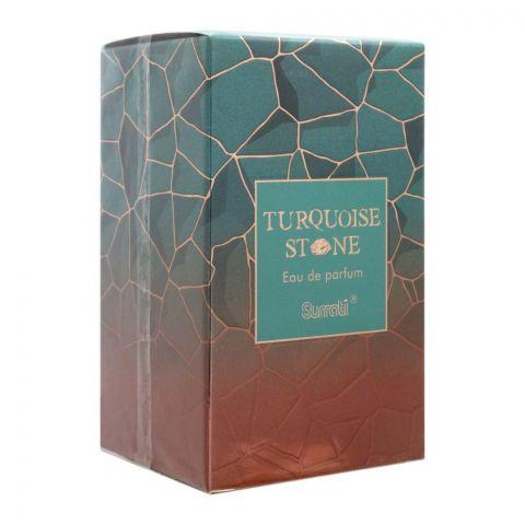 Surrati Turquoise Stone Eau De Parfum, Fragrance For Men, 100ml