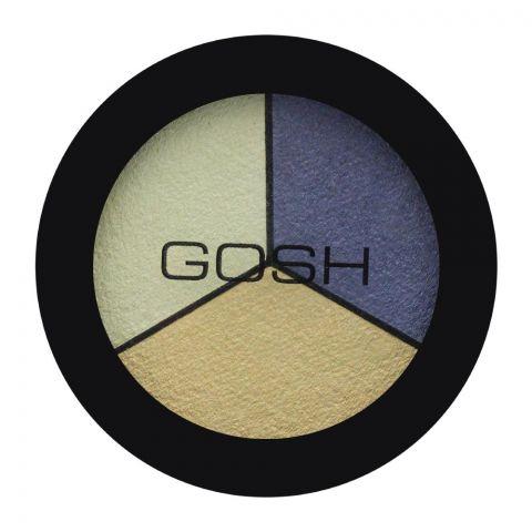 Gosh Trio Eyeshadow, TR22 Limelight