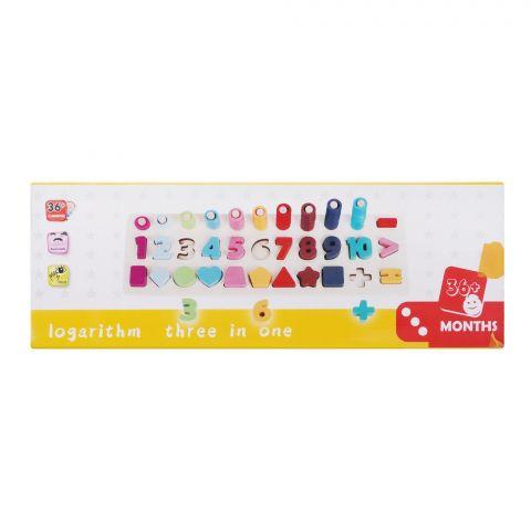Live Long Logarithmic Board, 4-2305-12