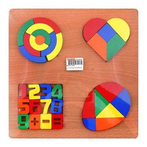 Live Long Shape Puzzle, 4-2305-6