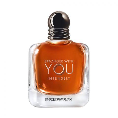Emporio Armani Stronger With You Intensely Pour Homme Eau De Parfum, Fragrance For Men, 100ml