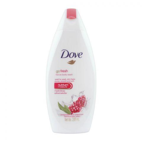 Dove Go Fresh Pomegranate & Lemon Verbena Scent Body Wash, 200ml