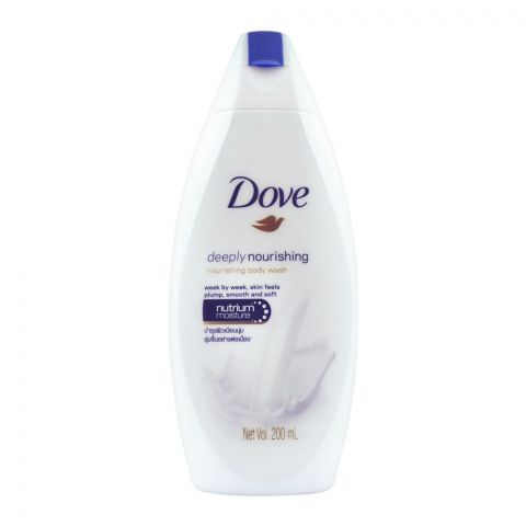 Dove Deeply Nourishing Smooth And Soft Body Wash, 200ml