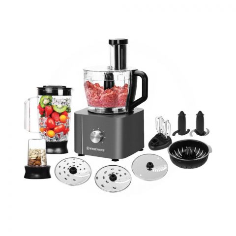 West Point Professional RoboMax Food Processor, Multi-Function, WF-8816