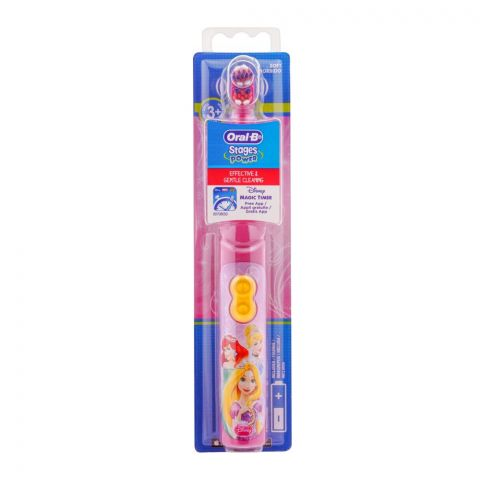 Oral-B Stages Power Kids Disney Toothbrush, Battery Powered, DB3010