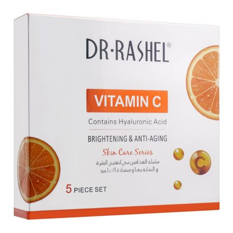 Dr. Rashel Vitamin C Brightening & Anti Aging Set, 5-Pack