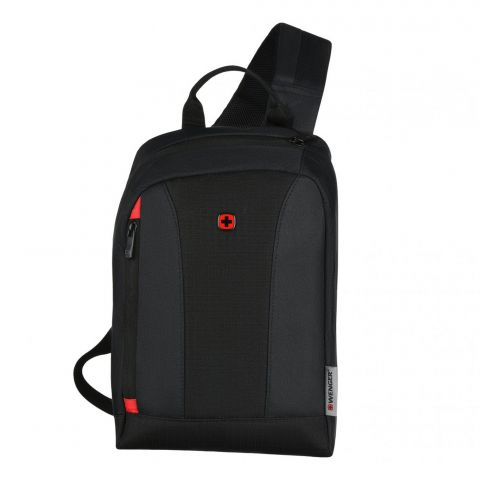 Wenger Monosling Shoulder Bag, Black, 604606