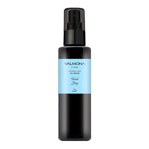 Valmona Ultimat Hair Oil Serum, Light, Amber Vanilla, 100ml