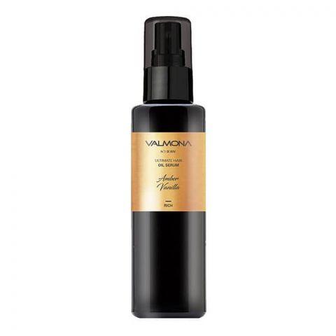 Valmona Ultimat Hair Oil Serum, Rich, Fresh Bay, 100ml