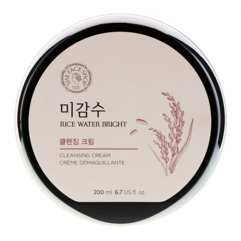 The Faceshop Rice Water Bright Cleansing Cream, 200ml