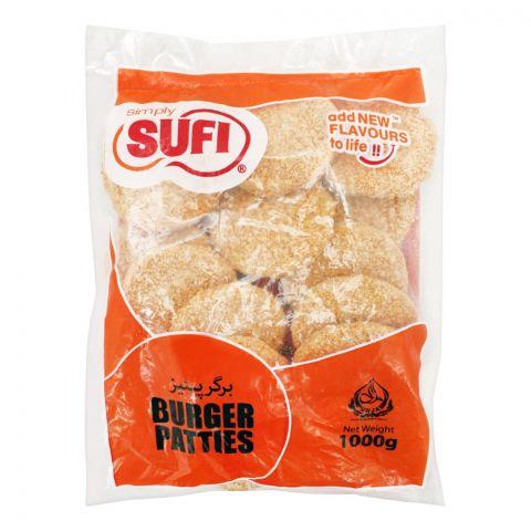 Sufi Burger Patties, (Poly Bag), 1000g