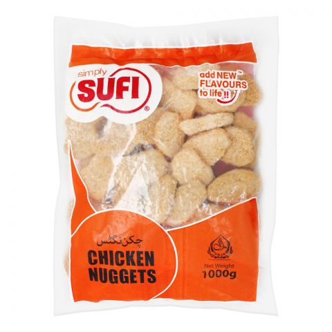 Sufi Chicken Nuggets, (Poly Bag), 1000g