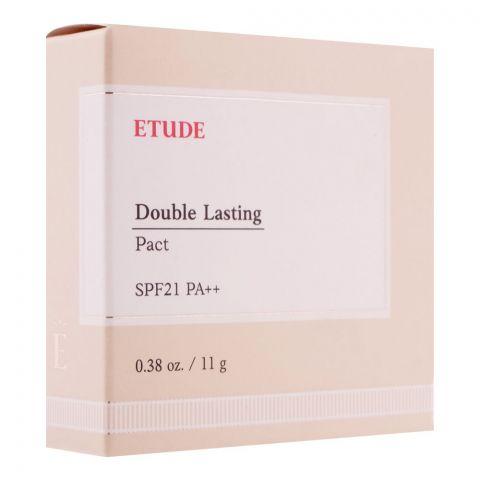 Etude House Double Lasting Pact, SPF 21 PA++, Light Vanilla, 11g