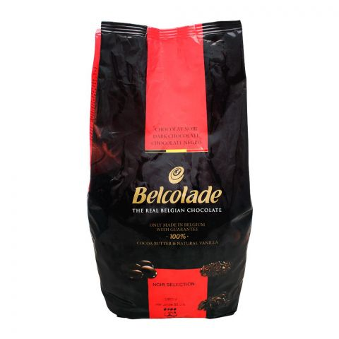 Belcolade Belgian Real Dark Chocolate Drops, 5 KG