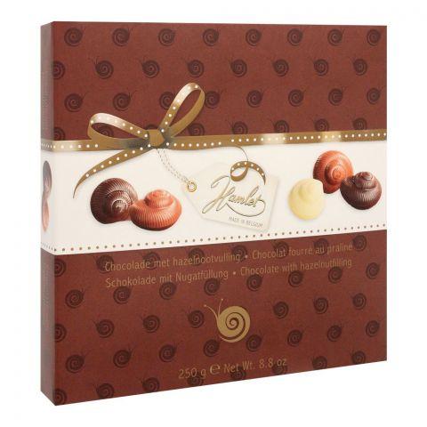 Hamlet Hazelnut Escargots Chocolates, 250g