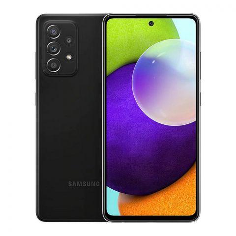Samsung Galaxy A72 Smartphone, 8GB/256GB, wesome Black, SM-A72FF/DF