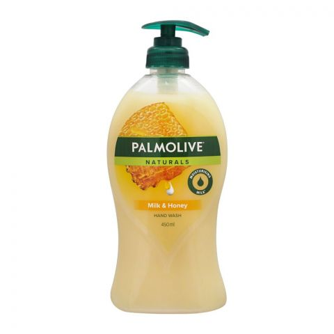 Palmolive Naturals Milk & Honey Liquid Hand Wash, 450ml