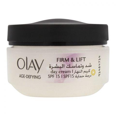 Olay Anti-Wrinkle Firm & Lift Day Cream, SPF 15, 50ml