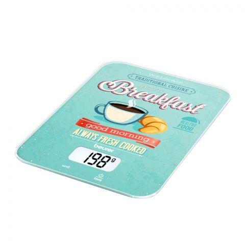 Beurer Breakfast LCD Display Kitchen Weight Scale Machine, KS-19