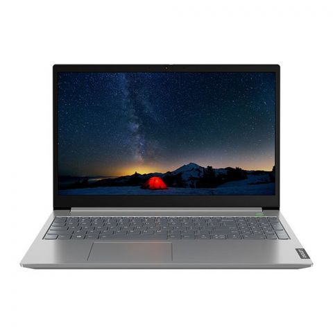Lenovo V15-IIL Laptop, Core i5-1035G1, 8GB RAM , 1TB HDD, DOS, 15.6 Inches HD TN Display, Iron Grey