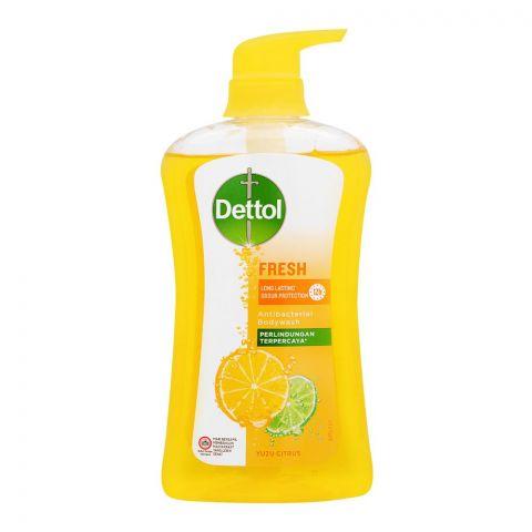 Dettol Fresh Yuzu Citrus Antibacterial Body Wash, 625ml