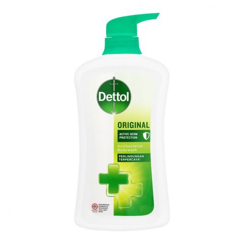 Dettol Original Active Germ Protection Antibacterial Body Wash, 625ml