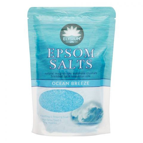 Elysium Spa Epsom Bath Salt, Ocean Breeze, 450g
