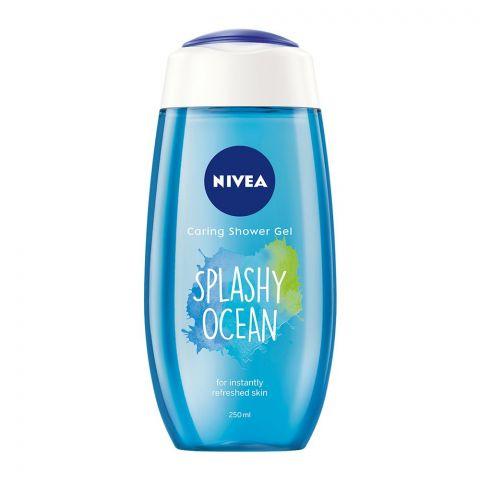 Nivea Splashy Ocean Caring Shower Gel, 250ml