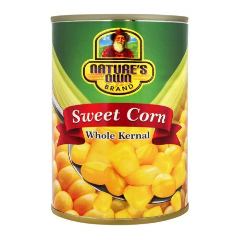 Nature's Home Sweet Corn, Whole Kernel, 380g