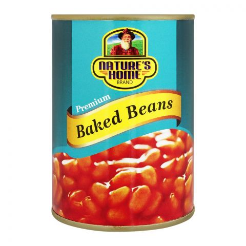 Nature's Home Baked Beans, 400g