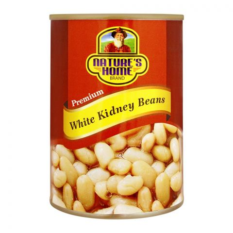 Nature's Home White Kidney Beans, 400g