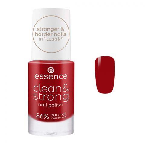 Essence Clean & Strong Nail Polish, 05 Loud Poppy