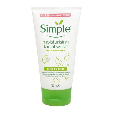 Simple Kind Of Skin Moisturising Facial Wash, For Sensitive Skin, 150ml